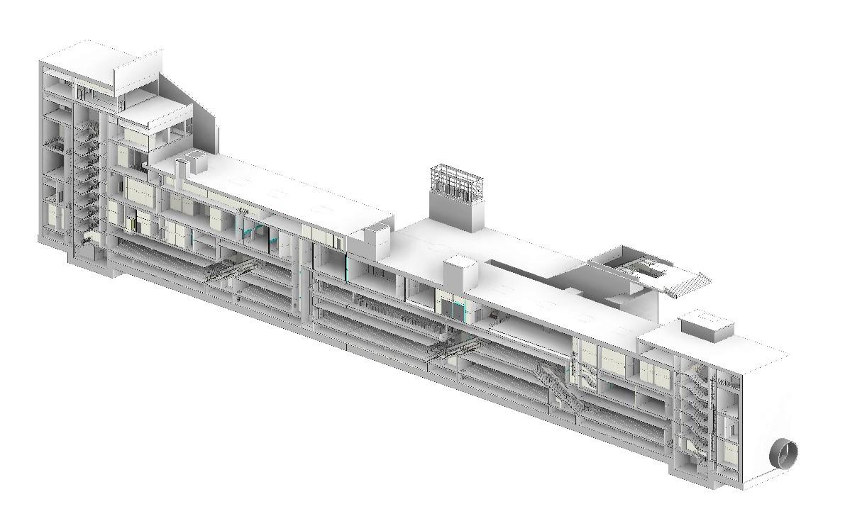 S02 Kağıthane İstasyonu 3 Boyutlu BIM Modeli