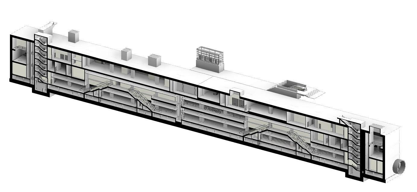 S04 Kemerburgaz İstasyonu 3 Boyutlu BIM Modeli