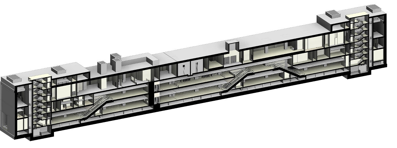 S07 Havalimanı 2 İstasyonu 3 Boyutlu BIM Modeli