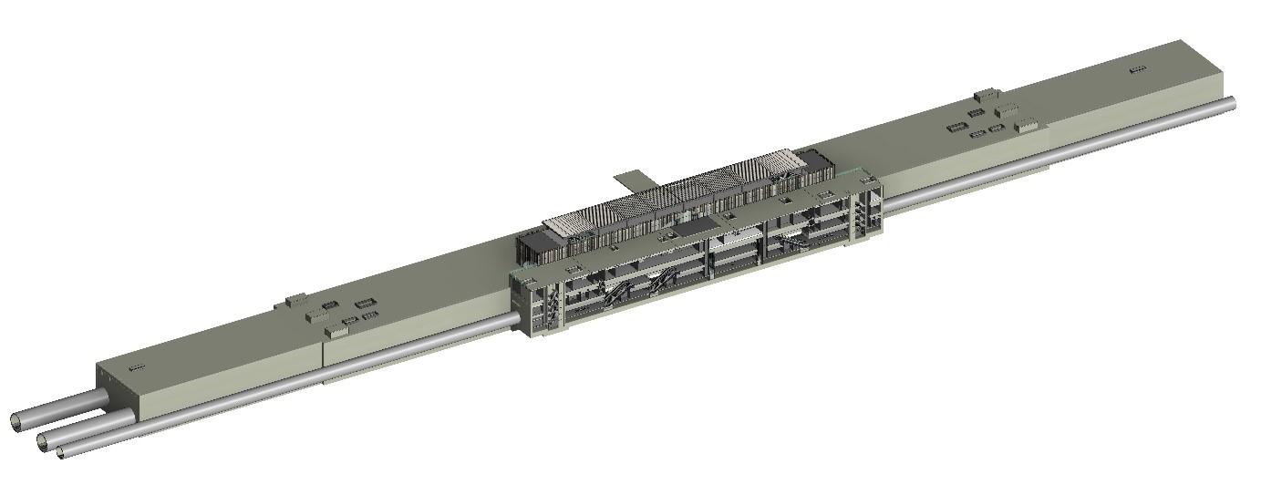 S08 Havalimanı 1 İstasyonu 3 Boyutlu BIM Modeli