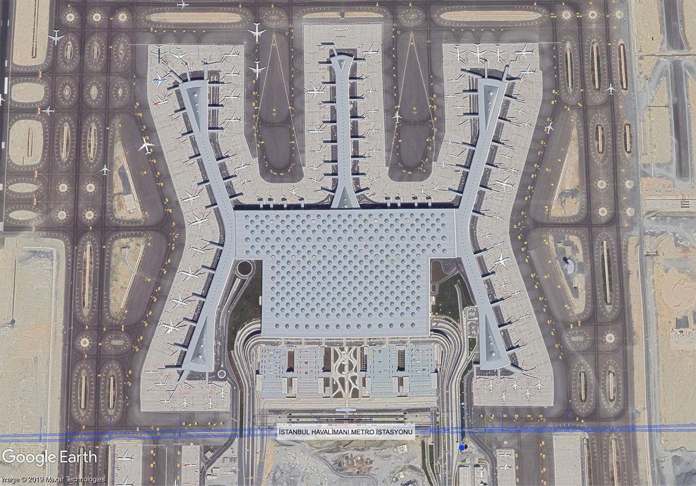 S08 İstanbul Havalimanı Metro İstasyonu
